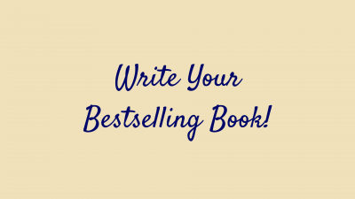 write your bestselling book